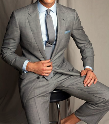 Picture of Classic Grey Two Piece Suit